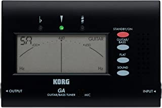 Korg GA-40 BK Gitarren-Tuner