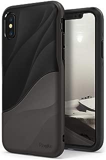 Capa iPhone X/XS Wave, Ringke, Capa Anti-Impacto, Cinza (Metallic Chrome)