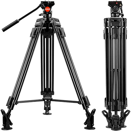 Esddi Vt 60 Video Stativ Aus Aluminium Robust 162 6 Kamera