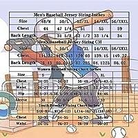 メンズウィメンズベースボールジャージーアストロズアルトゥーベ#35ファンエリートエディション半袖ボタントップベースボールTシャツ(S-3XL)-3XL_青い