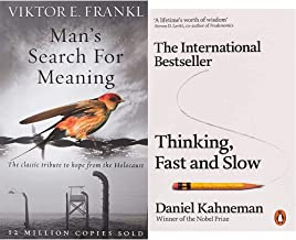 Man's Search for Meaning[Paperback]+Thinking, Fast and Slow (Penguin Press Non-Fiction)(Set of 2books)