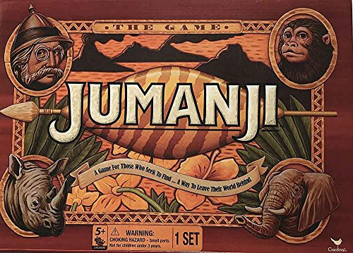 Cardinal Games Jumanji the Game Play Anywhere Edition (Travel Size)