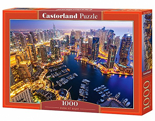 Castorland C-103256-2 - Dubai at Night, Puzzle 1000 Teile