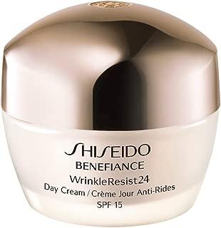 Shiseido SPF 18 Benefiance Wrinkle-Resist 24 Day Cream for Unisex, 1.8 Ounce