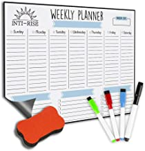 Dry Erase Magnetic Calendar by Intirise - 12