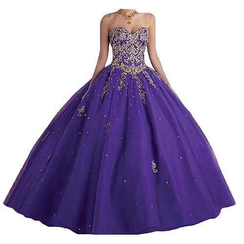 Purple Quinceanera Dress Amazon.com