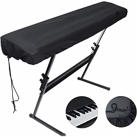 Comius Sharp 88 teclas Teclado de piano electrónico Cubierta antipolvo Bolsas de teclado Fundas Fundas de poliéster y spandex con bolsa incorporada ...