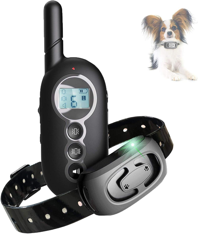 collar adistramiento educacion perros con sonido, vibración calambres, con mando de control remoto