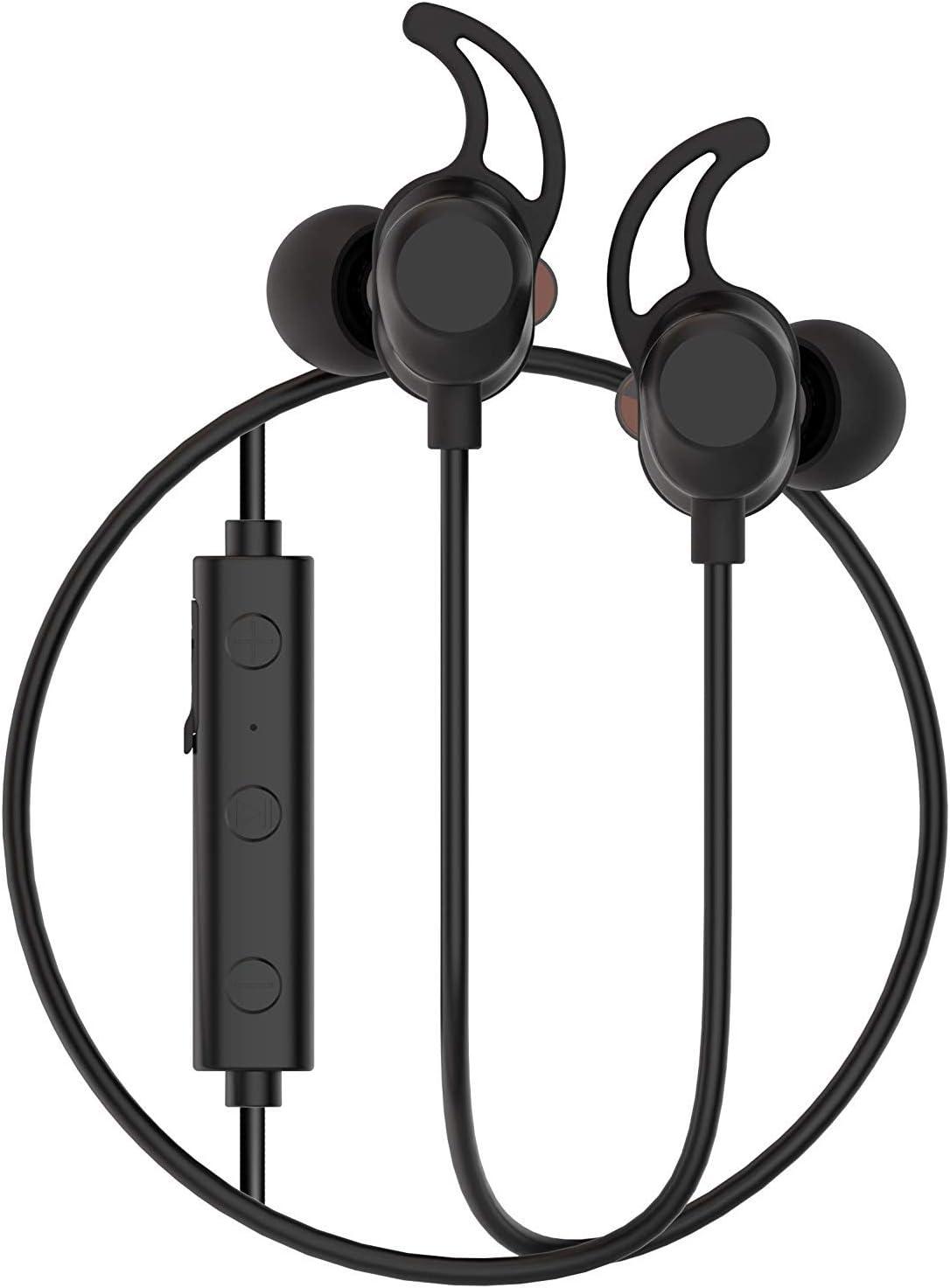 Force Audio Twin – Dual Driver Bluetooth V4.2 Wireless In Ear Monitoring Headphones with Dekoni Audio Bulletz Memory Foam Ear Tips / Built In Microphone