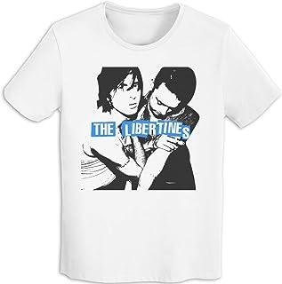 ザ・リバティーンズ The Libertines Tシャツ メンズ コットン プリントインナーシャツ クルーネック ショートスリーブ 夏 2020新型ファッション カジュアル 通学 通勤 男女兼用 Black