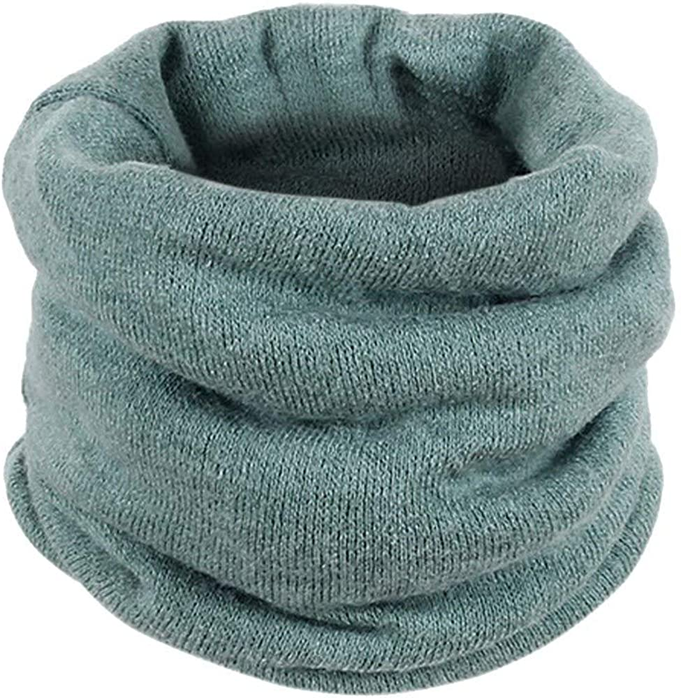 aihihe Unisex Neck Warmer Neck Gaiter Cold Weather Fleece Turtleneck Scarf Winter Warm Scarves Chunky Infinity Scarves