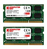 Komputerbay 8GB (2x 4GB) DDR3 SODIMM (204 pin) 1066Mhz PC3 8500 8 GB