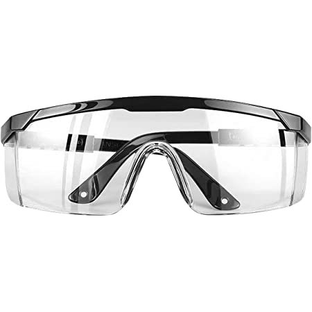DJM 4.0 Protective Eyewear Glasses, Safety Glasses & Goggles with Clear Side Shields Anti-Scratch Resistant Spatter Impact UV Protection Lens for Women Children