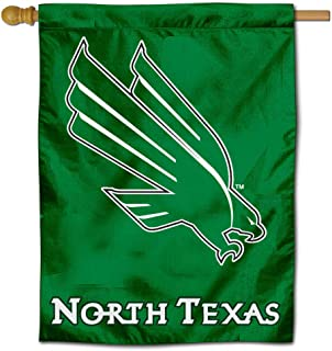 College Flags and Banners Co. University of North Texas Mean Green House Flag