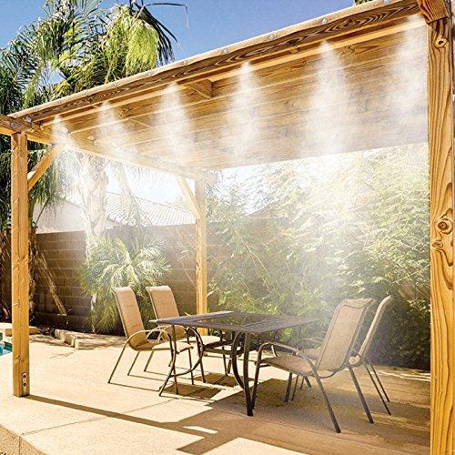 Brumisateurs & Co 052 Kit de Nebulización/Rociador de terraza 7,5 m