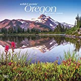 Oregon Wild & Scenic 2021 12 x 12 Inch Monthly Square Wall Calendar, USA United States of America Pacific West State Nature