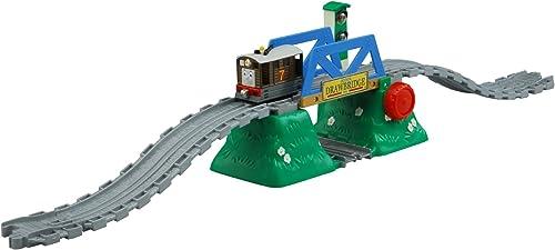 Thomas le moteur de moteur de métal coulé sous pression DW-03 Toby et le signal flash et son pont ensemble