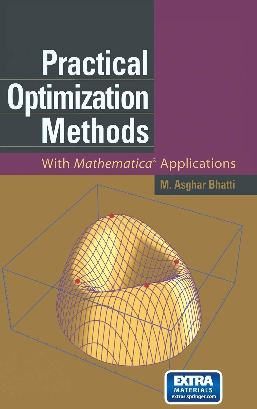 Image OfPractical Optimization Methods: With Mathematica® Applications
