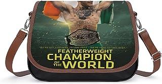 Conor McGregor Damen Vintage Taschen Handtasche Retro Schultertasche Unterarmtasche