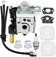 Ferilter Carburetor for SRM210 SRM211 Echo GT200 GT201i HC150 HC151 PE200 PE201 PPF210 PPF211 String Trimmer Brushcutter Carb RB-K75 Carburetor with Fuel Maintenance Kit Spark Plug