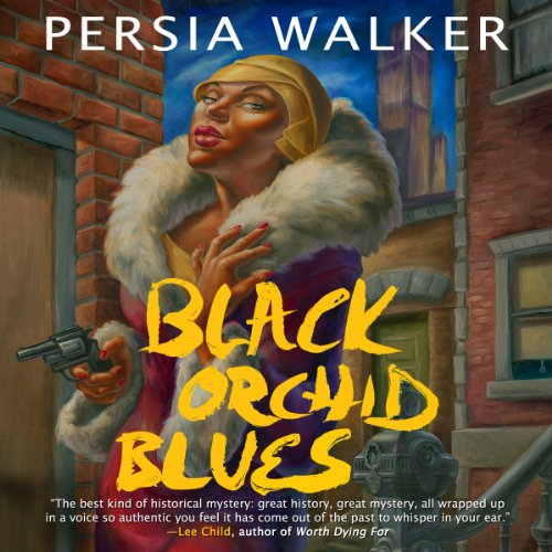 Black Orchid Blues audiobook cover art