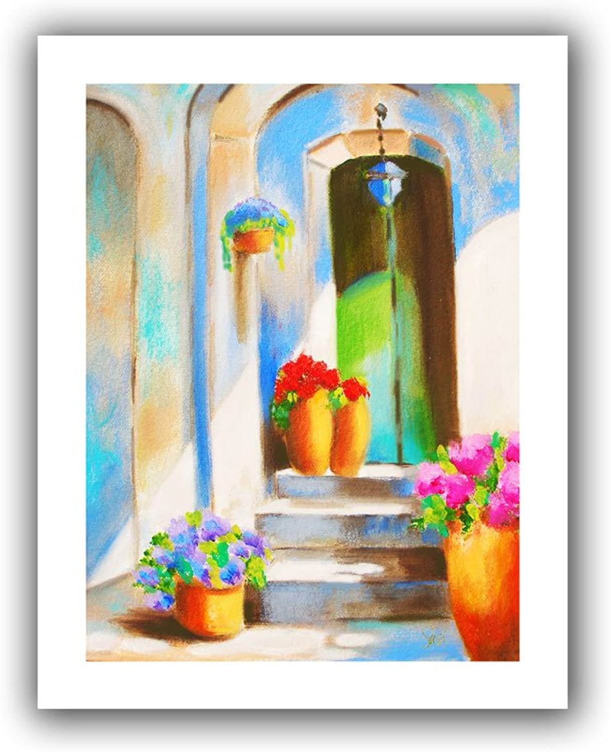 ArtWall  Tuscan Morning Stillness  Unwrapped Canvas Art by Susi Franco, 18 by 22Inch