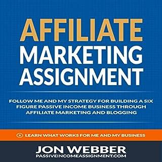 Affiliate Marketing Assignment cover art