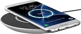 Belkin F7U014dqSLV Boost Up Qi 15W Wireless Charging Pad for Samsung, Black Pack