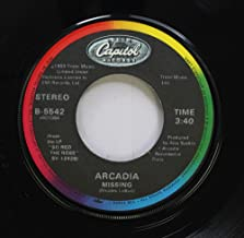 Arcadia 45 RPM Missing / Goodbye Is Forever