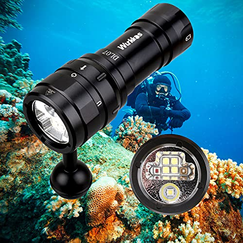 Wurkkos DL07 Tauchlampe,3000 Lumen LED...