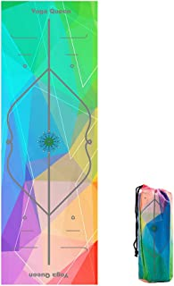 Barrageon Toalla de Yoga Microfibra con Silicona Antideslizante Super Sudor Absorbente y Secado Rápido, Ideal para Ashtanga, Bikram, Yoga Caliente, Pilates, Fitness y Otras Actividades Deportivas de Interior Al Aire Libre