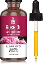 Hera Nature Rose Antioxidant Essential Oil - Pure and Natural Ingredients, in Jojoba & Rosehip Oil, Therapeutic Grade (USA...