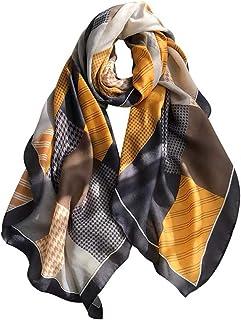 Womens Warm Plaid Scarf Fall Winter Blanket Tartan Scarves Wrap Shawl