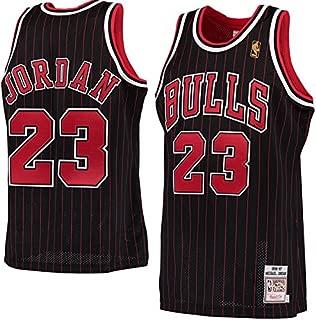 #23 Men's Jordan 1996-97 Hardwood Classics Black Jersey X-Large