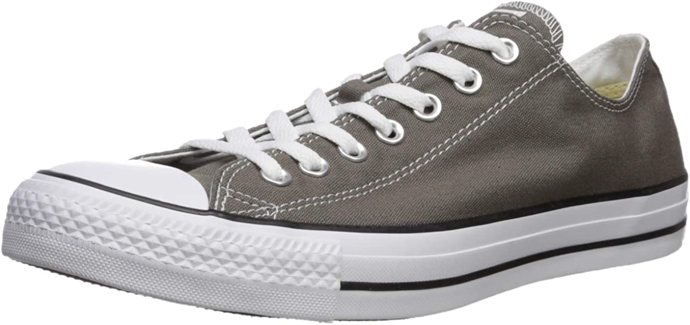 Converse All Star Chuck Taylor Lo Ox Charcoal New Mens Shoes Trainers