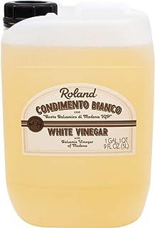 Roland Foods Condimento Biano with Balsamic Vinegar of Modena, White Vinegar , 5-Liter Jug