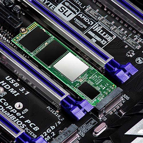 Transcend 512GB NVMe PCIe Gen3 x4 MTE220S M.2 SSD Solid State Drive TS512GMTE220S