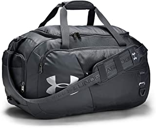 Under Armour Undeniable Duffle 4.0, Pitch Gray/Silver, Small