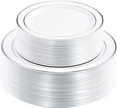 Best premium disposable plastic plates Reviews
