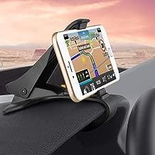 Non-Slip Dashboard Car Mount Clipper Phone Holder Compatible with LG K8+ (2018), K8 V K7 K30 K20 V Plus, K10, G4 G3 Vigor, G Stylo Pad X II 8.0 Plus 10.1 F2 8.0, Escape 3 (K373), Aristo V7G