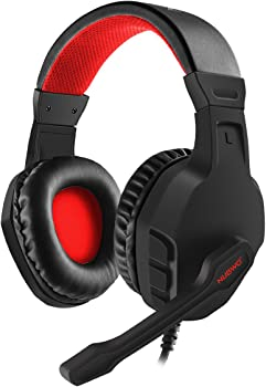 NUBWO U3 Over-Ear 3.5mm Gaming Headphones with Mic