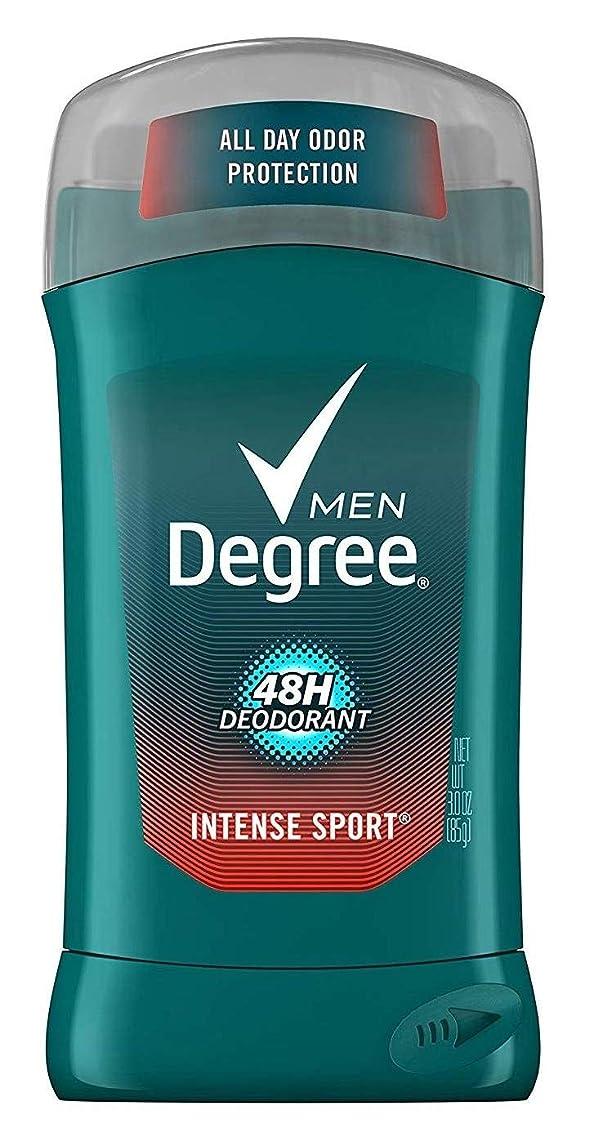 休戦セットする士気Degree Intense Sport Deodorant Stick Silver Ion 90 ml (並行輸入品)