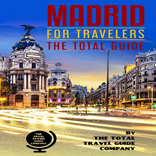 Madrid for Travelers audiobook cover art