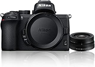 Nikon Z 50 + Nikkor Z DX 16-50mm f/3.5-6.3 VR Single Lens Kit, Black