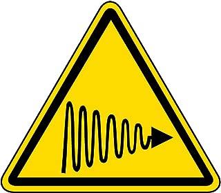Safety Sign Vinly Decal Ultraviolet (UV) Light Warning Label Danger Notice Warning Safe Sticker for Indoor & Outdoor Use Waterproof 7.5