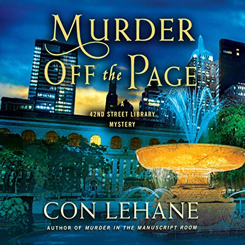 Murder Off the Page audiobook cover art