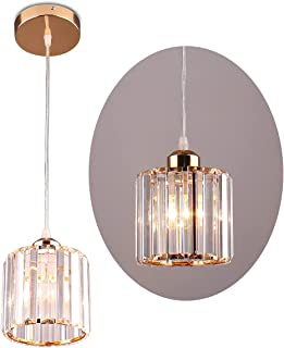 Mini suspension lustres en cristal éclairage plafonnier encastré pour salle à manger chambre cuisine îlot placard couloir,...