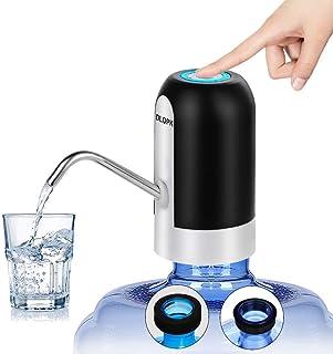 DLOPK Distributeur d'eau en Bouteille, USB chargeant la Pompe à Eau Potable Distributeur d'eau électrique Portable Commuta...