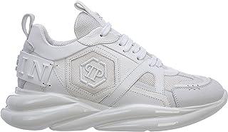 Philipp Plein Herren Hurricane Sneaker White