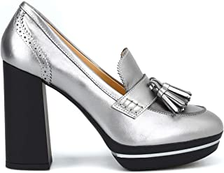 Hogan Décolleté stile mocassino in vernice scarpe